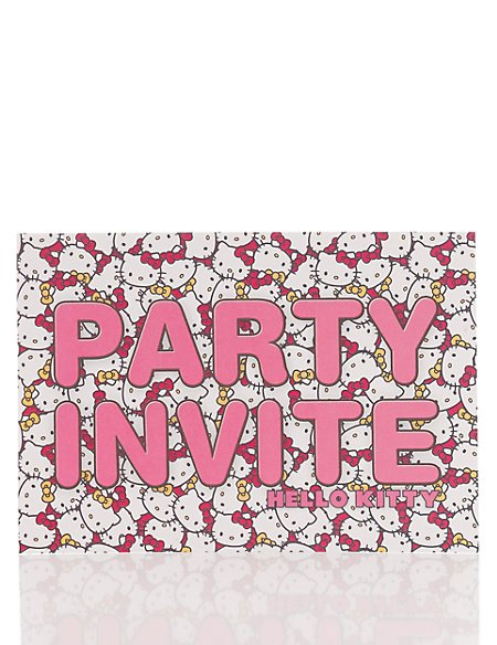 Hello Kitty Party Invite Multipack Cards