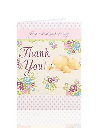 Forever Friends™ Thank You Card Home