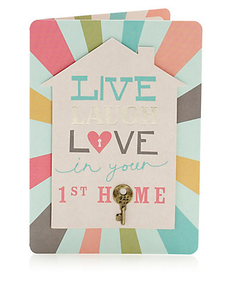 1st New Home Card Home
