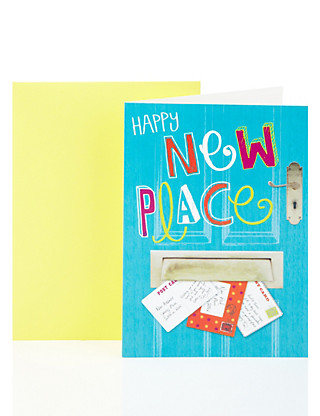 New Place Letterbox Greetings Card Home