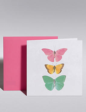 Butterflies Blank Card