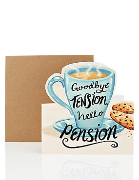 Humorous Motto Retirement Card