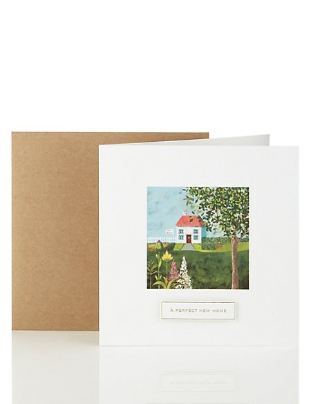 House Painting Print New Home Card