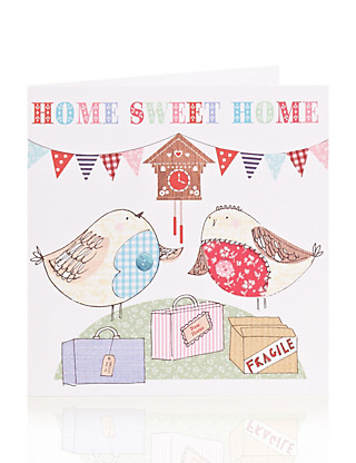 Home Sweet Home New Home Card Home