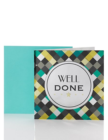 Well Done Card