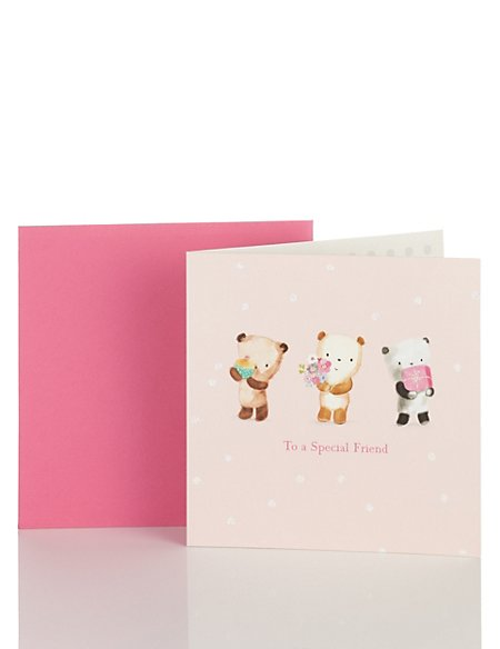 Cute Bears Birthday Card
