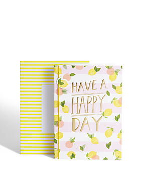 Happy Day Lemons Card