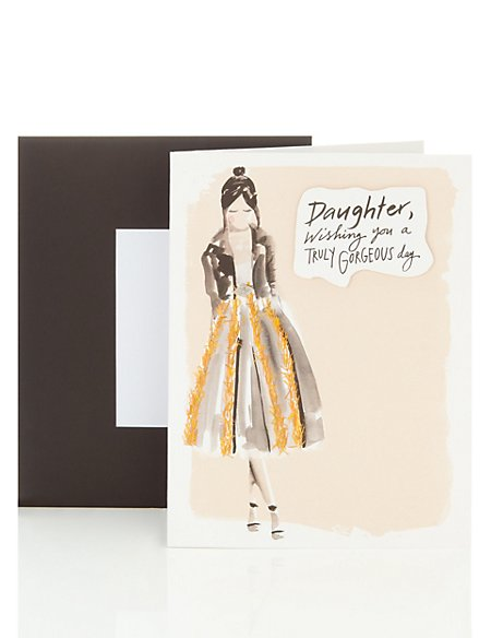 Open Occasion Card for Daughter