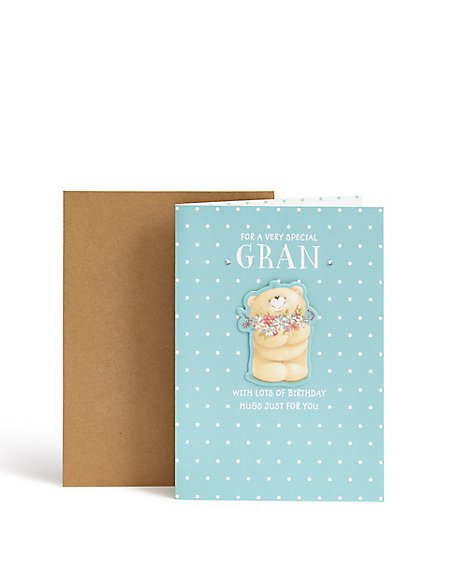 Forever Friends Gan Birthday Card
