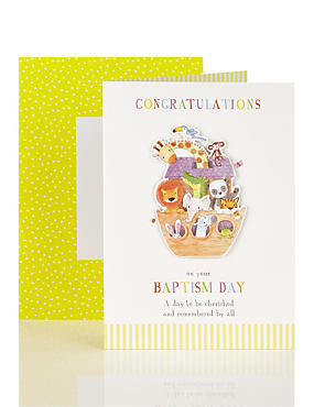 Baptism Day Card