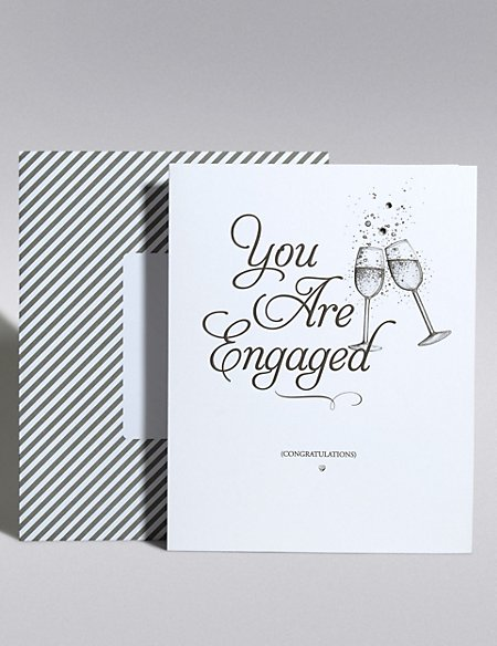 Classic Engagement Card