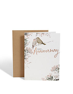 Two Birds Anniversary Card