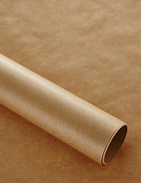 2m Brown Craft Wrapping Paper