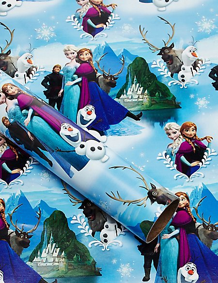 Frozen 2 Metre Wrapping Paper