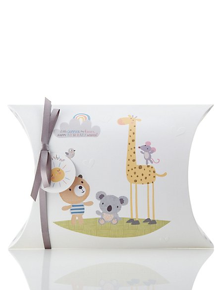 Flat Pack New Baby Gift Box