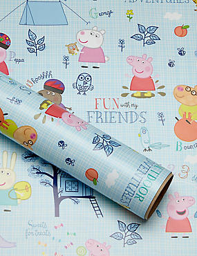 Peppa Pig 2m Wrapping Paper