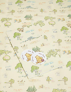 Winnie The Pooh Sheet Wrapping Paper