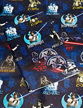 Star Wars™ Sheet Wrapping Paper