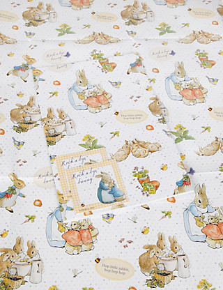 2 Peter Rabbit Wrapping Paper Home