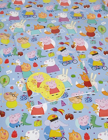 2 Peppa Pig™ Wrapping Paper