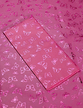 Pink Butterfly Tissue Paper