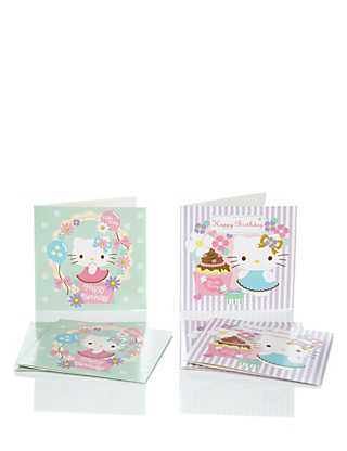 6 Hello Kitty Duo Multipack Cards Home