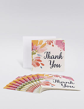 Floral Thank You Multipack Cards