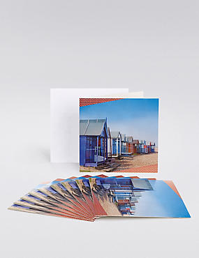 Beach Huts Multipack Cards