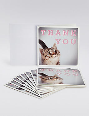 Photographic Kitten Thank You Cards