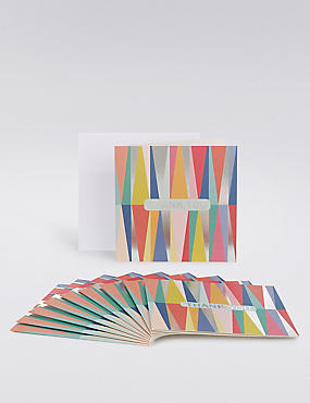 Colourful Thank You Cards