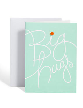 Big Hugs Sympathy Card