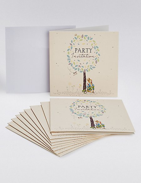 Peter Rabbit Party Invites