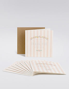 Girl Christening Thank You Cards