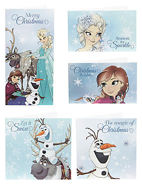 Frozen Christmas Cards - Pack of 20