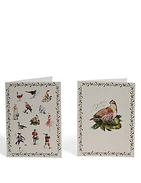 Twelve Days of Christmas Charity Cards - Pack of 20