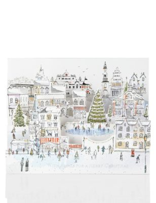 marks spencer christmas cards recycling paper