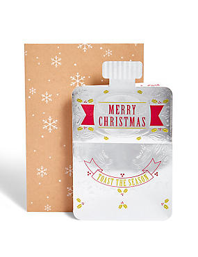 Festive Flask Christmas Card