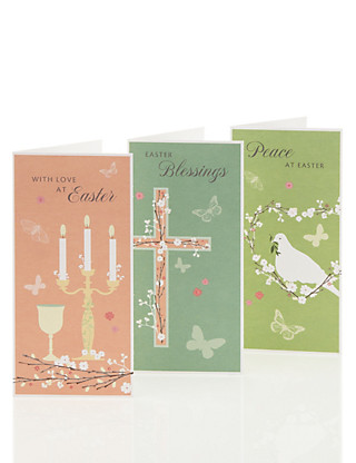 Classic Blossom Multipack Easter Cards Home