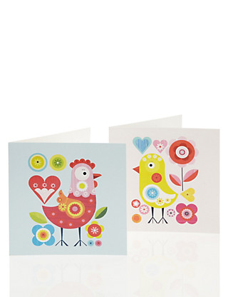 Charity Cute Chicken Multipack Easter Cards Home