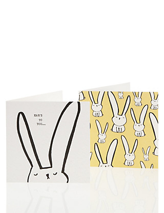 Charity Bunny Multipack Easter Cards Home