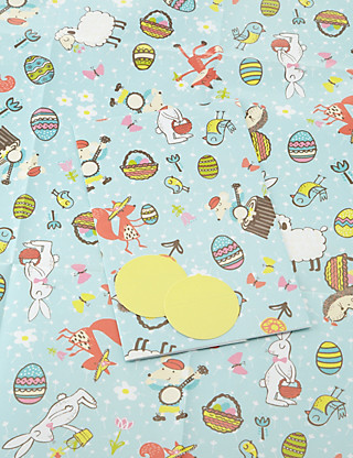 2 Easter Wrapping Paper Home