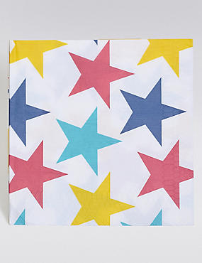 Colourful Star Napkins