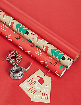 Set of 3 Fun Christmas Wrap Pack
