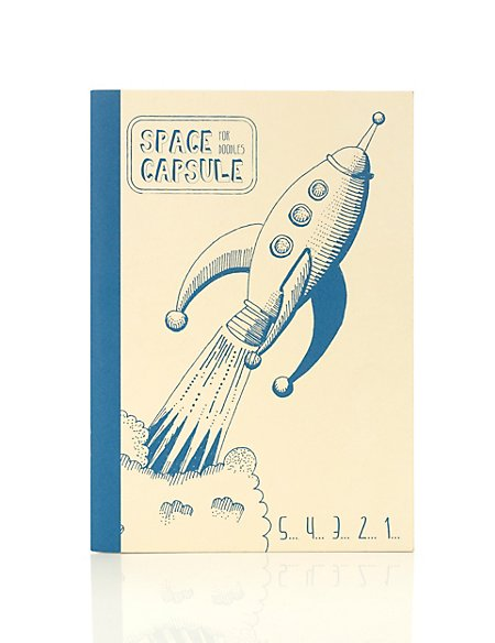Boutique Rocket B5 Notebook