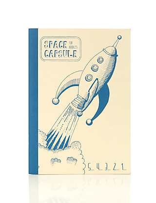 Boutique Rocket B5 Notebook Home