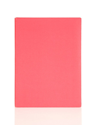 A6 Thick Red Notebook Home