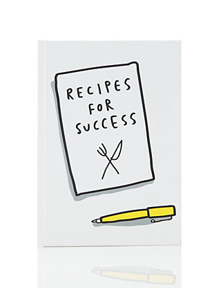 Smiles & Toast Fun Success A5 Notebook Home