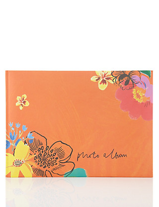 Floral Rio Photograph Album Home