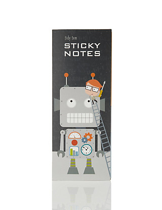 Tidy Tom Sticky Notes Home