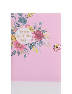 Fancy Floral Writing Set